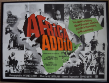 Africa Addio (1966) - African Documentary | UK Quad Poster